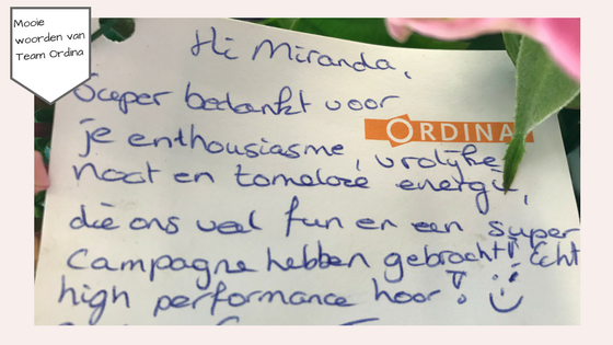 Campagne manager – employer branding Ordina